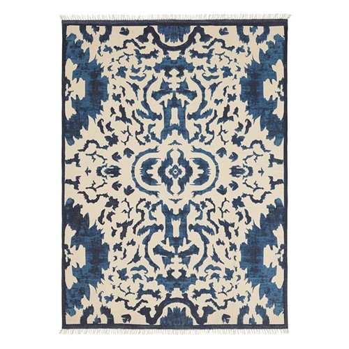 Nesbitt Rug, 315 x 230cm, 100% cotton/blue