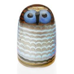 Birds by Toikka - Owlet Ornament, 7 x 10.5cm