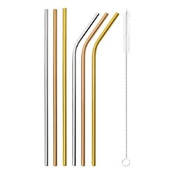 Mix & Play Set of 6 straws, multicolor
