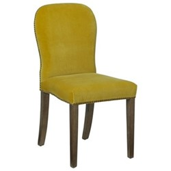Stafford Chair, H92 x L59 x W45cm, alchemilla velvet