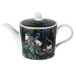 Tahiti - Lemur Teapot, 1.1 Litre, navy