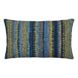 Goosegrass Cushion, 30 x 50cm, blue