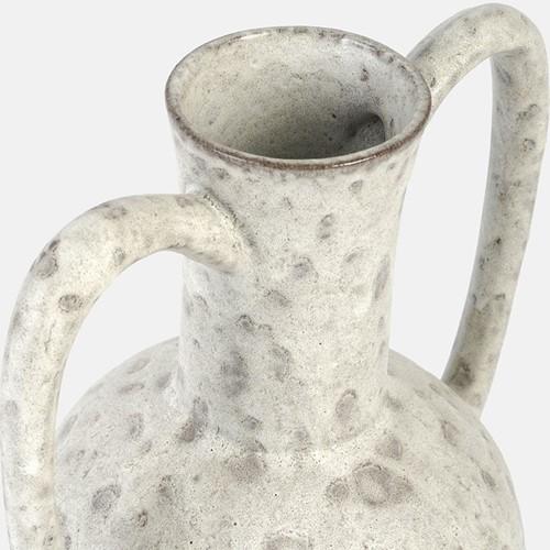 Sara Vase, H25 x W13 x D16cm, beige/natural