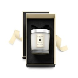 Peony & Blush Suede Home candle, 200g