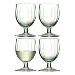 Mia Set of 4 wine glasses, 350ml, partial optic