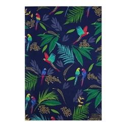 Parrot - Repeat Tea towel, 44 x 65cm, blue