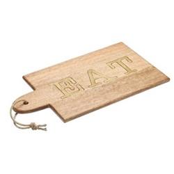 Paddle board, W38 x L20cm, mango wood