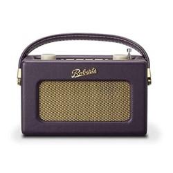 Revival Uno DAB/DAB+/FM digital radio with alarm, H14 x W21 x D9cm, mulberry purple