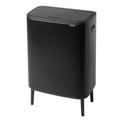Bo Hi touch bin, 60 litre, matt black