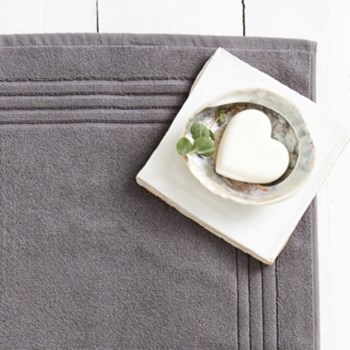 Egyptian Cotton Bath mat, 50 x 80cm, slate