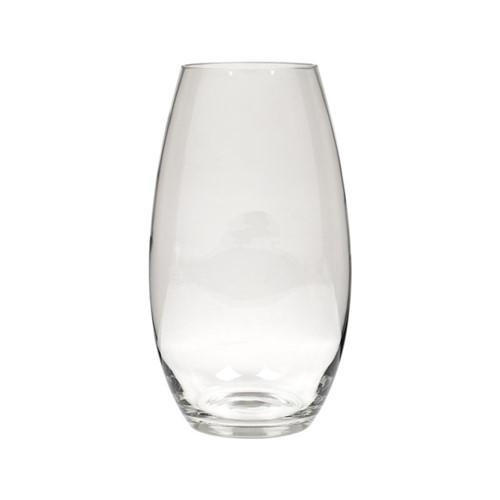 Dulwich Tall vase, H28.2 x D16.5cm, clear