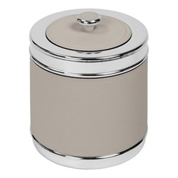 Ocean Insulated ice bucket with lid, D16 x H19cm, grey