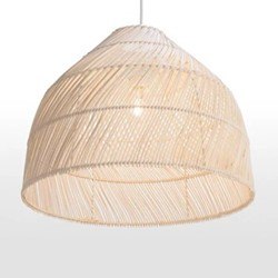Java Lampshade, 43 x 43 x 35cm, natural rattan