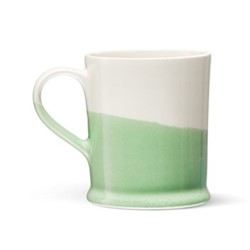 Colour Dip Mug, H10cm, Green