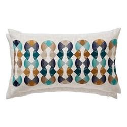 Bodega Cushion, 30 x 50cm, marine