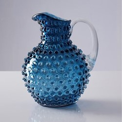 Bobble Jug, 2 litre, blue smoke