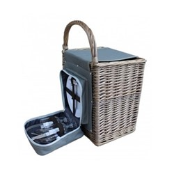Chill Beach Beach hamper, L36 x W26 x H36cm, antique wash