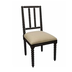 Bobble Dining chair, 48 x 50 x 96cm, blackberry