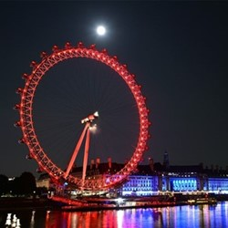 London Eye champagne flight and Michelin star lunch for two