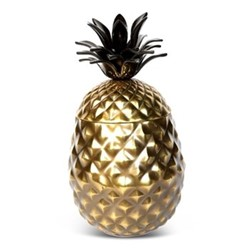 Pineapple Wine cooler/ice bucket, H37 x D18cm, gold