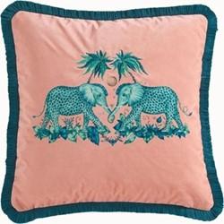 Zambezi Square cushion, peach