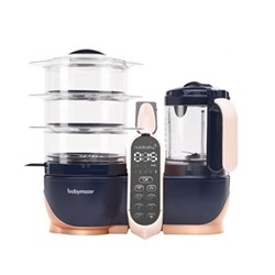 Nutribaby(+) XL 5-in-1 food prep machine, Copper/Navy
