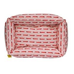 Dachshund Dog bed small, H22 x W55 x D75cm, Multi