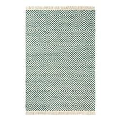 Atelier Twill Rug, 160 x 230cm, green