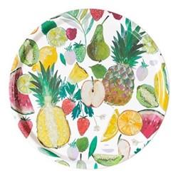 Tutti Fruity Round Tray, Dia38cm