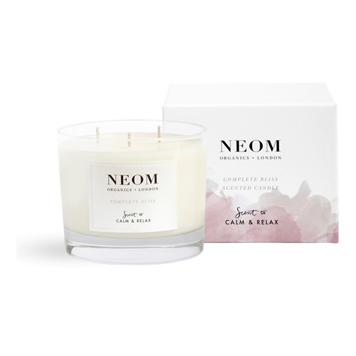 Scent to Calm & Relax - Complete Bliss 3 wick scented candle