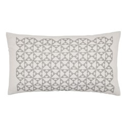 Nova Cushion, 50 x 30cm, cloud grey
