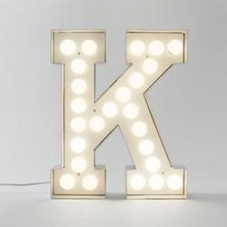 Vegaz K Letter light, H60cm