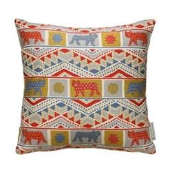 Tiger-Tiger Cushion, 50 x 50cm, red multi