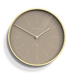 Mr Clarke Wall clock, Dia53cm, clay grey