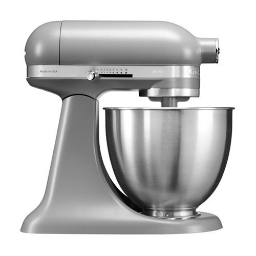 Mini Stand mixer, 3.3 litre, matte grey