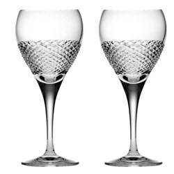 Tiara Pair of small wine glasses, 19.5cm