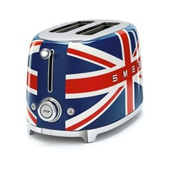 50's Retro 2 slice toaster, Union Jack