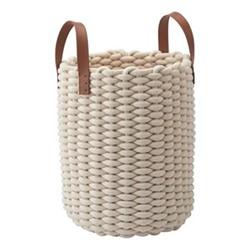 Rudon Storage basket, L30 x W30 x H45cm, beige