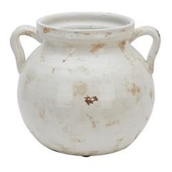 Haybrook Round vase, H23 x Dia26.5cm, snow