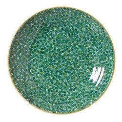Lawn Shallow dish, D37 x H5cm, green