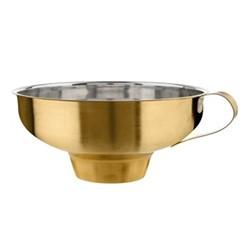 Jam funnel, Dia17 x H6.5cm, stainless steel