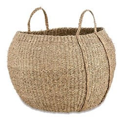 Rundi Seagrass basket, Dia56cm, natural