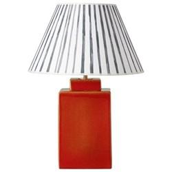 Naoshima Table lamp - base only, H30 x L18 x W18cm, blood orange