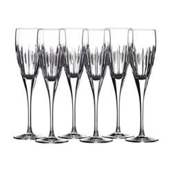 Ardan - Mara Set of 6 flute glasses, clear