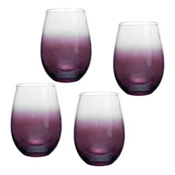 Kingsley Stemless wine glass, 0.58 litre, plum