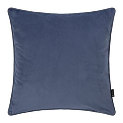 Velvet cushion, W45 x L45cm, night