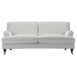 Bluebell 3 seater sofa, H91 x W218 x D106cm, pumice