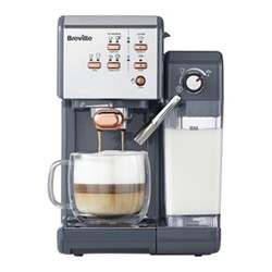 One Touch - VCF109 Coffee machine, 1.4 litres, graphite grey & rose gold