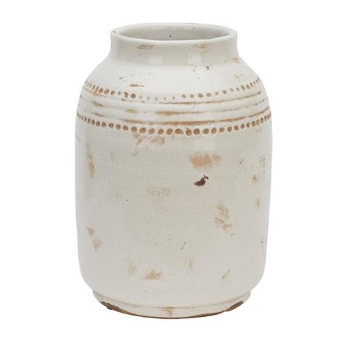 Haybrook Medium vase, H27.5 x Dia19.5cm, snow