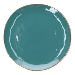 Concerto Set of 4 dinner plates, Dia27cm, teal blue